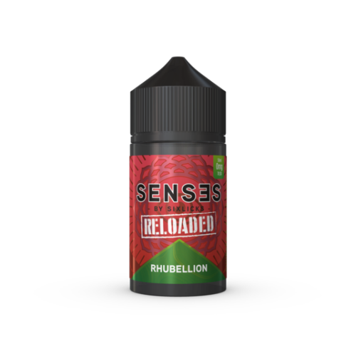 Rhubellion Reloaded Senses 50ml Shortfill - Dragon Vapour