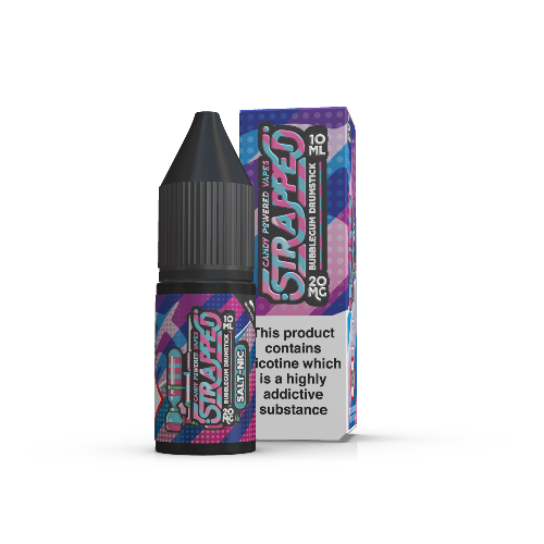 Bubblegum Drumstick Strapped Nic Salts 10ml - Dragon Vapour