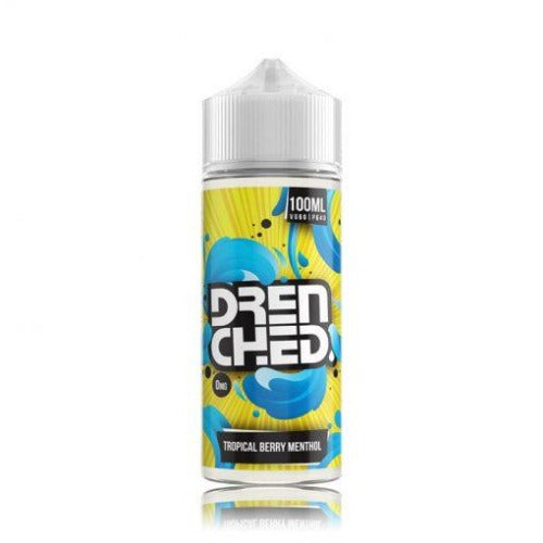 Tropical Berry Menthol Drenched 100ml - Dragon Vapour