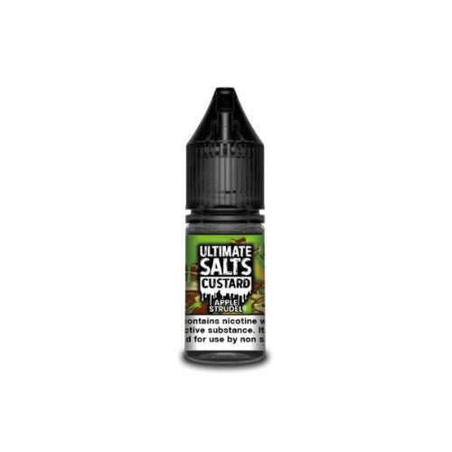 Ultimate Puff Salts 10ml - Custard - Apple Strudel - Dragon Vapour