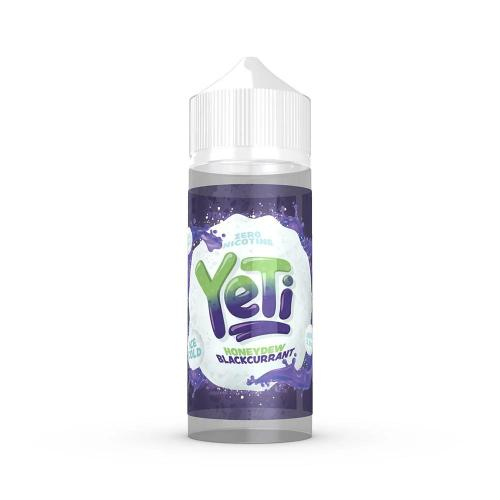 Yeti E-Liquids - Honeydew Blackcurrant 100ml - Dragon Vapour