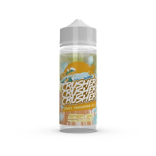 Zingy Tangerine Ice - Crusher 100ml E-Liquid - Dragon Vapour