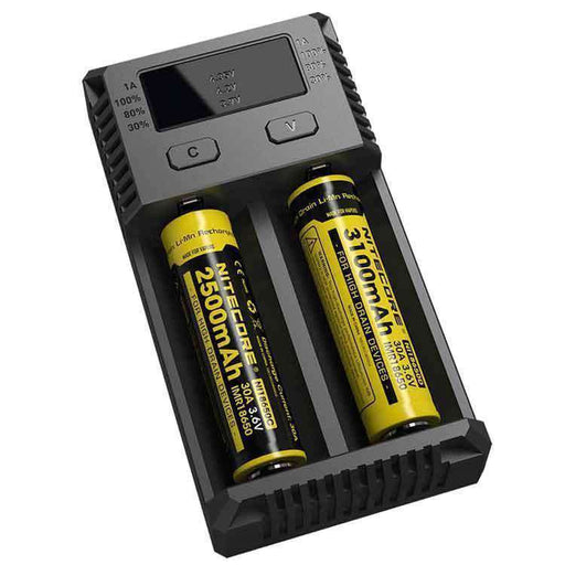 Nitecore Intellicharger New i2 Charger - Dragon Vapour