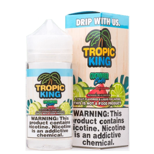 Cucumber Cooler Tropic King 100ml - Dragon Vapour