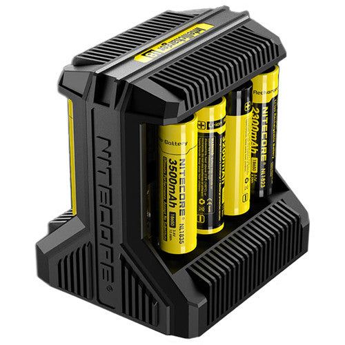 Nitecore Intellicharger i8 Charger - Dragon Vapour