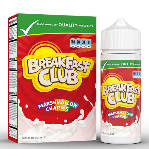 Marshmallow Charms By Breakfast Club 100ml - Dragon Vapour