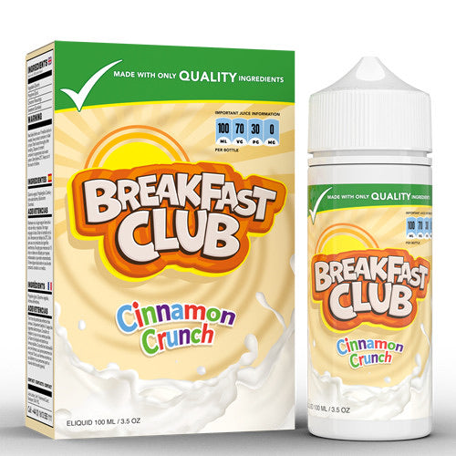 Cinnamon Crunch By Breakfast Club 100ml - Dragon Vapour