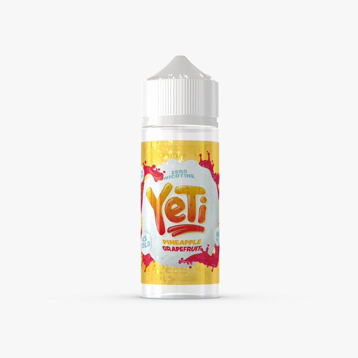 Yeti E-Liquids - Pineapple Grapefruit 100ml - Dragon Vapour