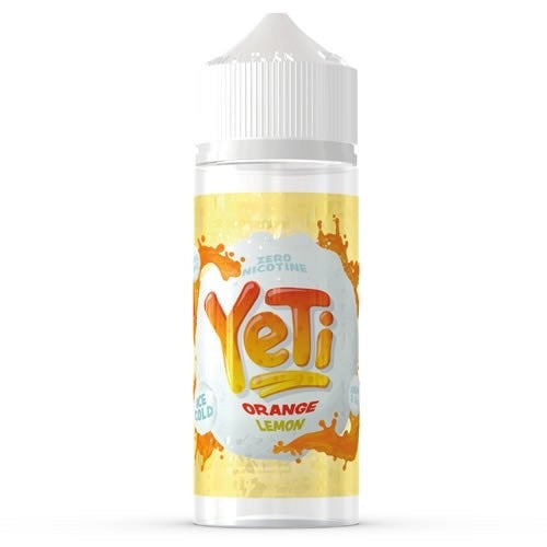 Yeti E-Liquids - Orange Lemon 100ml - Dragon Vapour