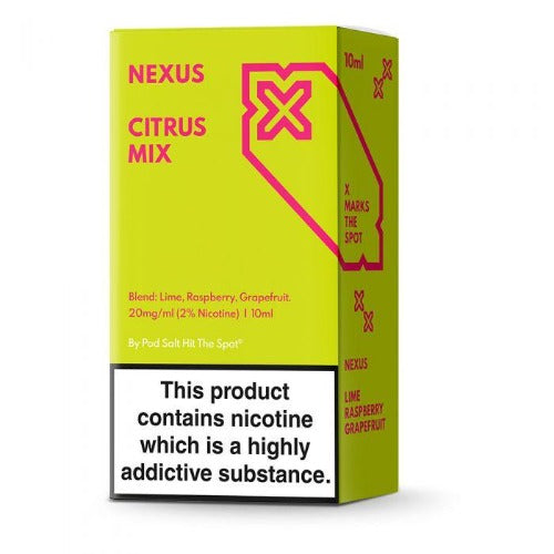 Citrus Mix Nexus Nic Salts 10ml - Dragon Vapour