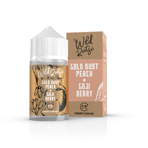 Gold Dust Peach & Goji Berry 50ml Wild Roots - Dragon Vapour