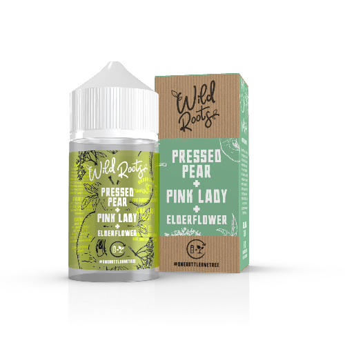 Pressed Pear, Pink Lady & Elderflower 50ml Wild Roots - Dragon Vapour