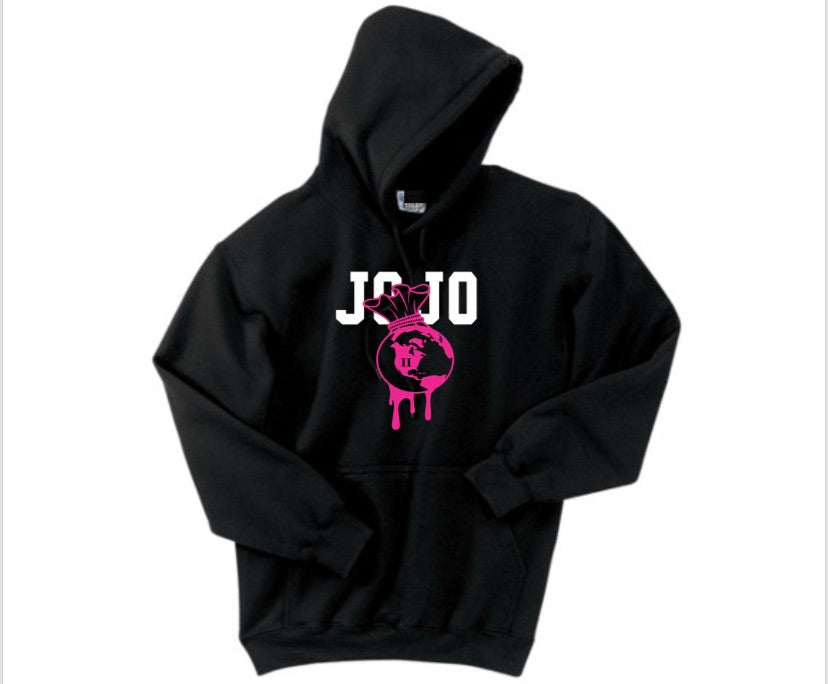 "The ""New JoJoWorld Hoodie"" (PINK)"