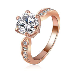 Elora Jewelry:Plethora Ring,rings,6.5 / Rose Gold