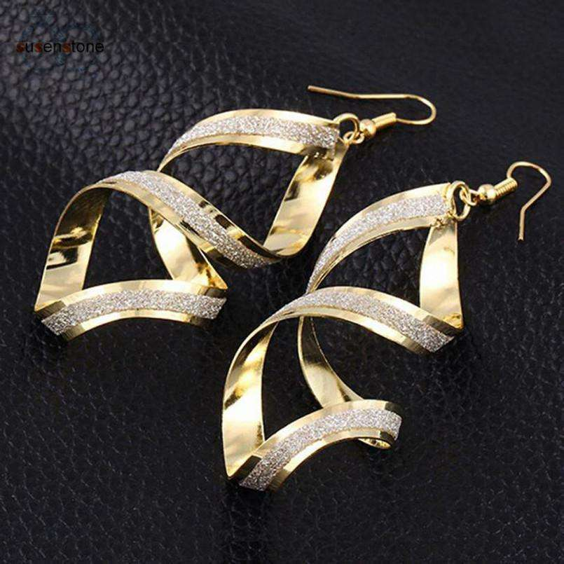 Elora Jewelry:Cathedral Earrings,earrings,Gold