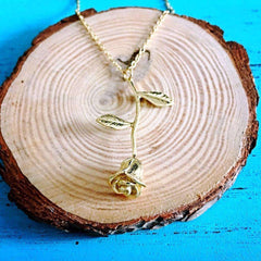 Elora Jewelry:Vortex Necklace,necklaces,Gold