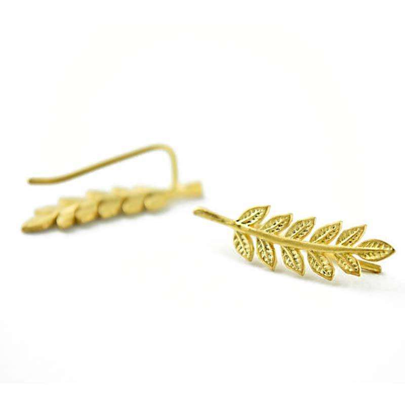 Elora Jewelry:Incendiary Earrings,earrings,Gold