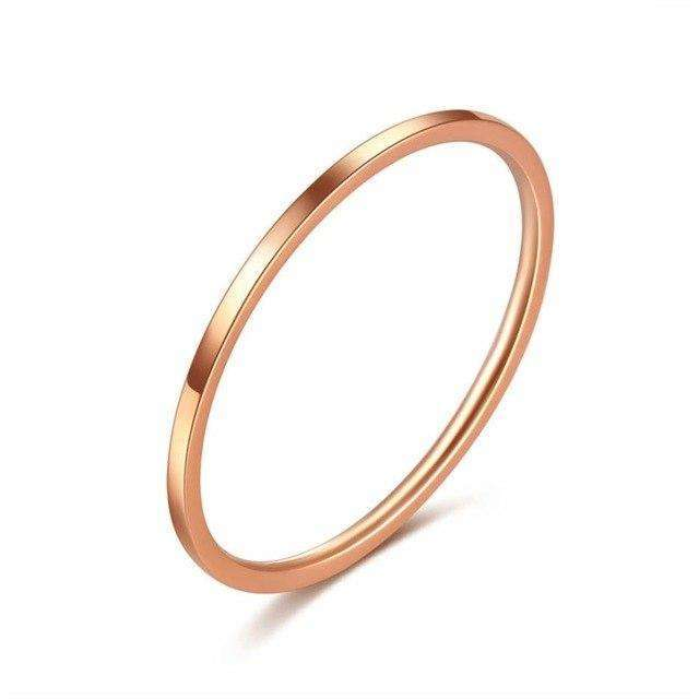 Elora Jewelry:Pollex Ring,rings,5 / Rose Gold