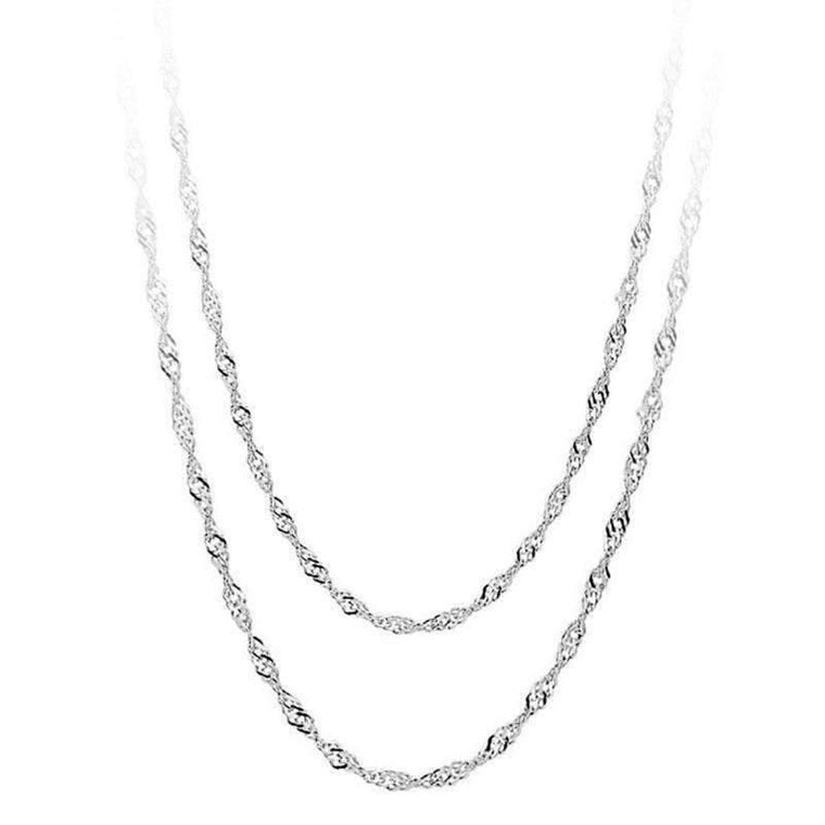 Intrinsic Necklaces