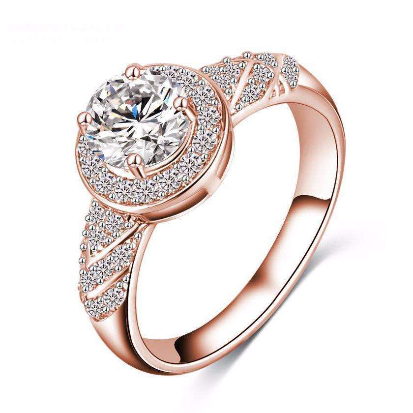 Elora Jewelry:Sojourn Ring,rings,Rose gold / 6