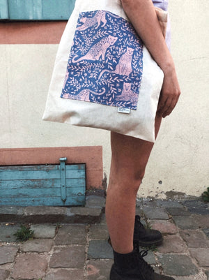 JUNGLE CAT / TOTE BAG