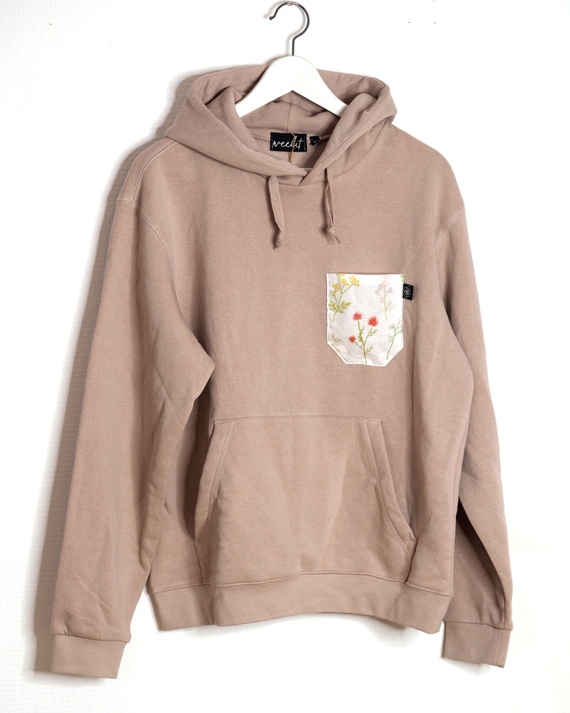 OUTLET / HOODIE ALTROSA WILDFLOWER POCKET