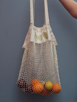 PLANTS | ORGANIC COTTON MESH BAG