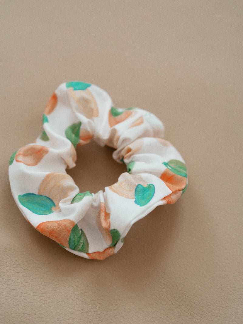 RECYCLED SCRUNCHIE PEACH