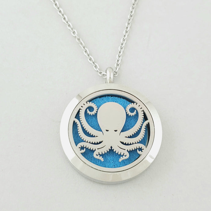 Octopus Pendant Necklace