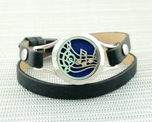 Music Notes Double Strap Bracelet