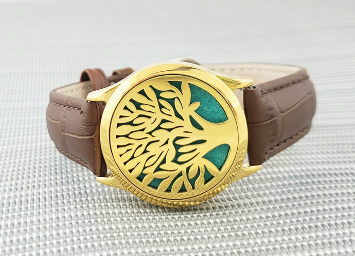 Tree of Life Wide Band Bracelet