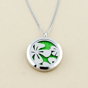 Hibiscus Pendant Necklace