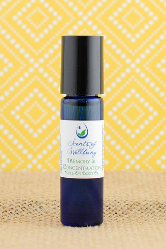 Memory & Concentration Body Oil