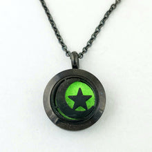 Moon & Star Mini Pendant Necklace