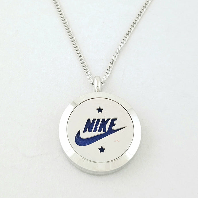 Swoosh Pendant Necklace