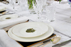 coat of arms armorial china tableware bespoke