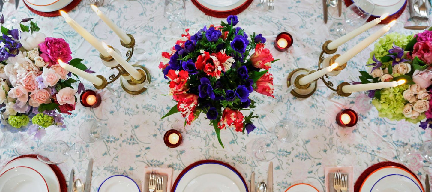 Dinner party fine bone china