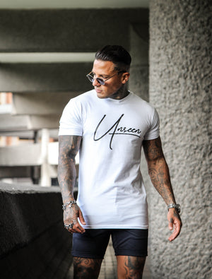 SIGNATURE T-SHIRT - WHITE