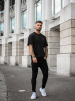 SS OVERSIZED T-SHIRT - BLACK