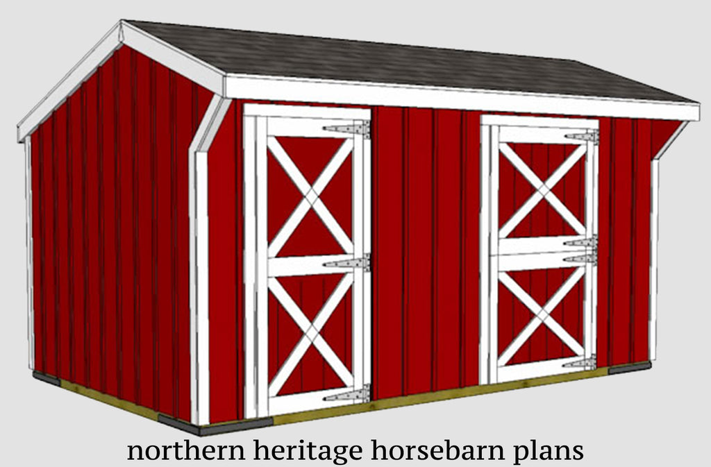 Traditional Barn Floor Plans Northern Heritage Horsebarn Plans