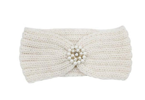 Knitted Jewel Headband