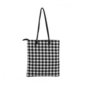 Gingham Checkered Shoulder Bag