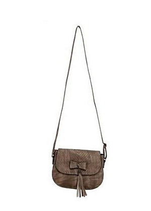 Cross Body Tassel Purse