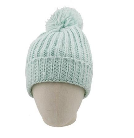 Knitted Mint Beanie