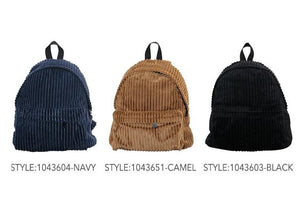 Corduroy Mied Backpack
