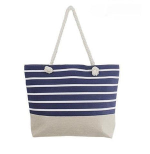 Stripe Beach Tote Bag