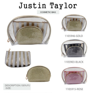 11059 3PCS SET COSMETIC BAG