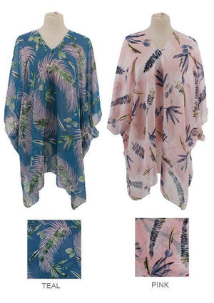 Tropical Summer Poncho
