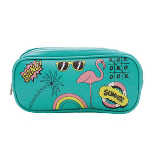 Summer Graphic Pencil Pouch