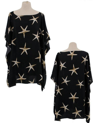 Star Fish Poncho